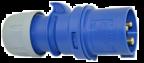 CEE Stickpropp 216-6, 16A, 2P+J IP44, 230V, 6h