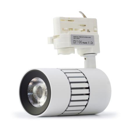 Xerolight Spot LED 12W 2700k 38° 3-fas RA97 Dimbar Vit